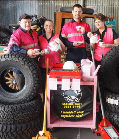 Peel Tyres Biggest Morning Tea